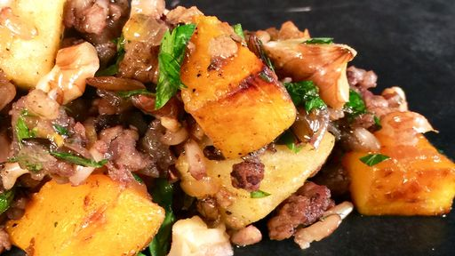 Warm Wild Rice and Squash Salad MICHAEL SYMON