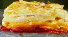 Ombre Potato and Root Vegetable Gratin CARLA HALL