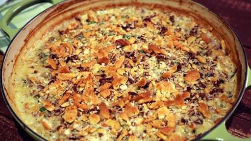 Chicken Poppy Seed Casserole CARLA HALL