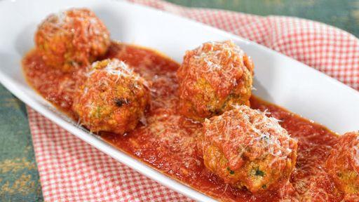 Sicilian Meatballs MARIO BATALI