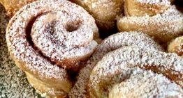 Puff Pastry Almond Snowflakes CARLA HALL