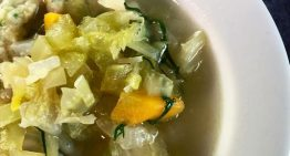 Pap's Turkey and Dumpling Soup MICHAEL SYMON