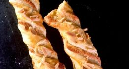 Puff Pastry Almond Twists CARLA HALL