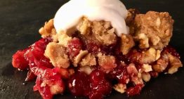 Cranberry Crumble FRANKIE MARTIRE