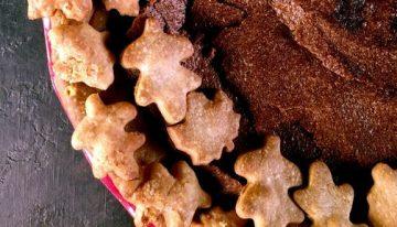 Fall Chocolate Chess Pie CARLA HALL