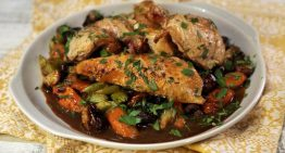 Coq au Vin Roast Chicken CARLA HALL