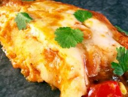 Sweet Potato, Corn and Wild Rice Enchiladas THE CHEW