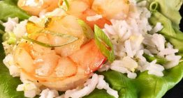 Sweet and Spicy Shrimp Lettuce Wraps CLINTON KELLY