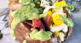 Cobb Salad Baked Potato CLINTON KELLY