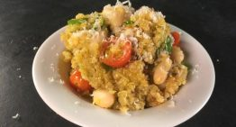 Quinoa Risotto with Zucchini and Tomatoes MICHAEL SYMON