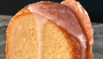 Hot Milk Cake with Buttermilk CARLA HALL