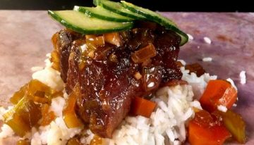 Korean Inspired Short Ribs CLINTON KELLY