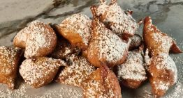 Banana-Rum Beignet MARK BAILEY
