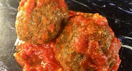 Pork and Beef Meatballs CRAIG RICHARDS