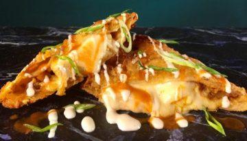 Buffalo Chicken Quesadillas TAKEO SPIKES