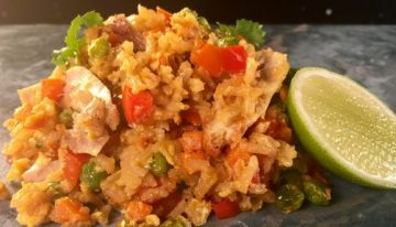 Classic Chicken Fried Rice CLINTON KELLY