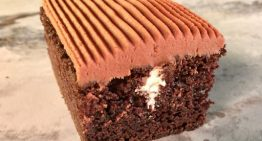 Frosted Devil's Food Cakes (Wingers) MICHAEL SYMON