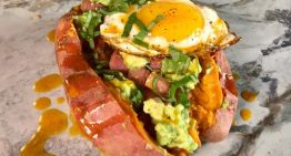 "Spicy Sweet Potato Ham ""Hash"" CARLA HALL"