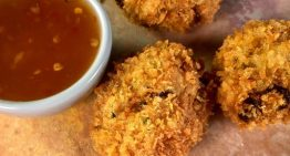 Thai Fried Shrimp Cakes with Sweet Chili Sauce MICHAEL SYMON