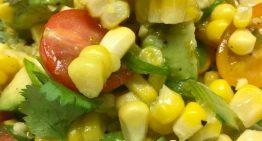 Grilled Corn and Tomato Salad MICHAEL SYMON