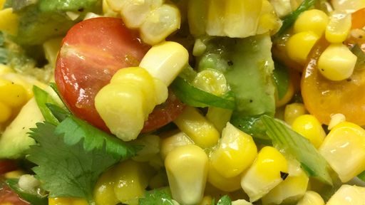Grilled Corn and Tomato Salad MICHAEL SYMON