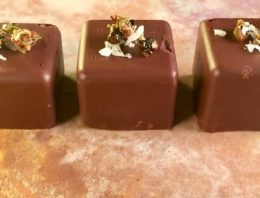 Fennel and Peppercorn Spiced Chocolates CARLA HALL
