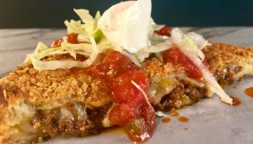 Taco Grilled Cheese CARLA HALL