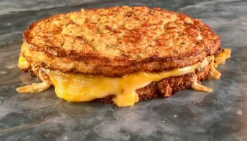 Cauliflower Grilled Cheese THE CHEW