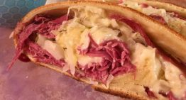 Reuben-Style Stuffed Bread MICHAEL SYMON