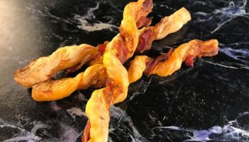 Bacon-Wrapped Cheese Straws CLINTON KELLY