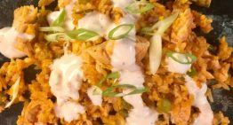 Buffalo Chicken Fried Rice CLINTON KELLY