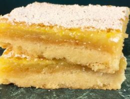 Lemon Bar Slab Pie CARLA HALL